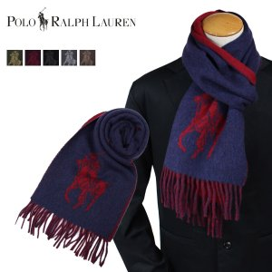【大人気ラルフローレンのアイテムが新入荷!!】  ・ポロラルフローレンのポニー刺繍マフラーです! ・...
