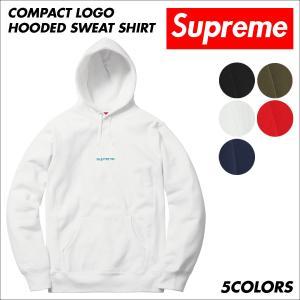 シュプリーム Supreme パーカー スウェット プルオーバー メンズ Compact Logo Hooded Sweat Shirt 予約商品 9/25頃入荷予定 新入荷|sneak