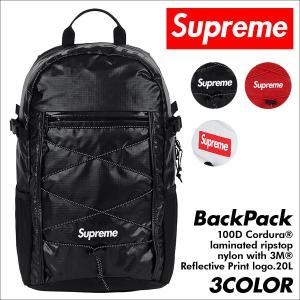 シュプリーム Supreme リュック バックパック メンズ レディース 20L 100D Cordura laminated ripstop nylon Back Pack 予約商品 9/25 新入荷|sneak