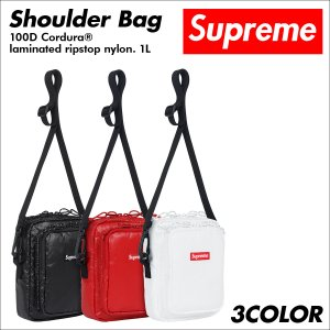 シュプリーム Supreme バッグ ショルダーバッグ メンズ レディース 1L 100D Cordura laminated ripstop nylon Soulder Bag 予約商品 9/25 新入荷|sneak