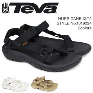 Teva テバ サンダル メンズ ハリケーン XLT2 HURRICANE ブラック ホワイト 1019234 4/18 新入荷|sneak