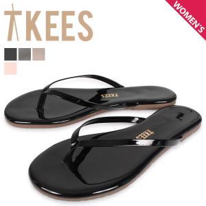 Tkees ティキーズ サンダル ビーチサンダル グロス レディース GLOS ブラック グレー ベージュ ピンク 黒|sneak
