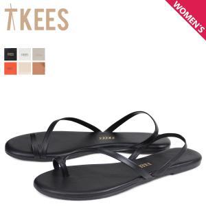 Tkees ティキーズ サンダル ビーチサンダル レディース LC SANDAL ブラック ホワイト グリーン オレンジ 黒 白|sneak