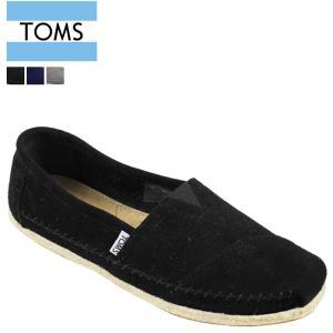 TOMS SHOES トムズ シューズ メンズ スリッポン MEN'S SEASONAL CLASSICS シーズナル クラシック トムス トムズシューズ スエード 10004 3カラー sneak