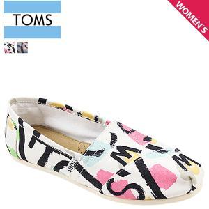 TOMS SHOES トムズ シューズ レディース スリッポン WOMEN'S SEASONAL CLASSICS シーズナル クラシックス トムス トムズシューズ 100049 2カラー sneak