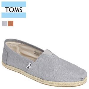 TOMS SHOES トムズ シューズ メンズ スリッポン MEN'S SEASONAL CLASSICS シーズナル クラシックス リネン トムス トムズシューズ 100048 2カラー sneak