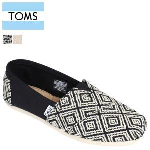 TOMS SHOES トムズ シューズ レディース スリッポン WOMEN'S SEASONAL CLASSICS シーズナル クラシックス キャンバス トムズシューズ 2カラー sneak