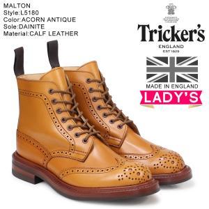 トリッカーズ Trickers レディース カントリーブーツ MALTON L5180 4ワイズ [...