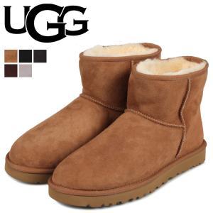 UGG アグ ムートンブーツ メンズ クラシック ミニ MENS CLASSIC MINI 1002072 [11/15 追加入荷] sneak