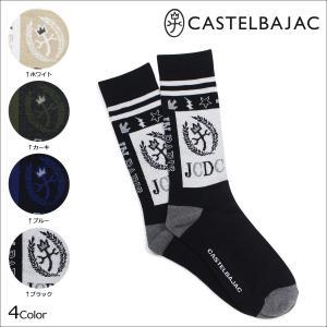 カステルバジャック CASTELBAJAC ソックス 靴下 メンズ ショート 4カラー|sneak