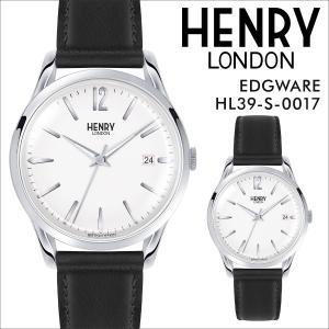 ヘンリーロンドン HENRY LONDON 腕時計 メンズ レディース エッジウェア 時計 39mm EDGWARE HL39-S-0017 ホワイト|sneak