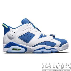 18e2de13356 NIKE AIR JORDAN 6 RETRO LOW WHITE/GHOST GREEN-INSIGNIA BLUE【価格修正】