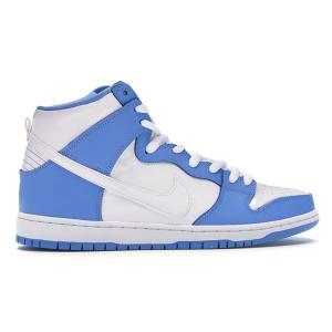 NIKE SB DUNK HIGH PREMIUM SB UNIVERSITY BLUE /WHITE RIVAL PACK|sneaker-shop-link