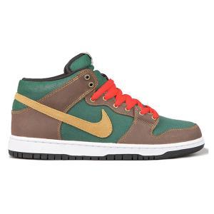 NIKE SB DUNK MID PATAGONIA NOBLE GREEN/MTLLC GOLD-DRK OK|sneaker-shop-link