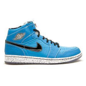 NIKE AIR JORDAN 1 MID RETRO RUFF N TUFF Quai 54 LASER BLUE BLACK WHITE|sneaker-shop-link