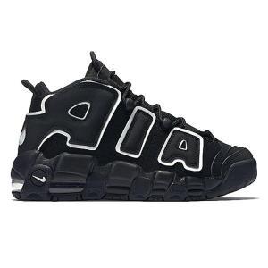 NIKE AIR MORE UPTEMPO GS 2020 BLACK/WHITE|sneaker-shop-link