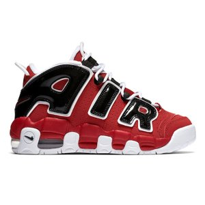 NIKE AIR MORE UPTEMPO GS HOOP PACK 2021 VARSITY RED/WHITE-BLACK|sneaker-shop-link