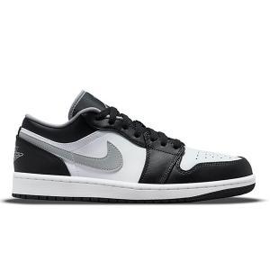 【予約】NIKE AIR JORDAN 1 LOW BLACK WHITE GREY 553558-040|sneaker-shop-link
