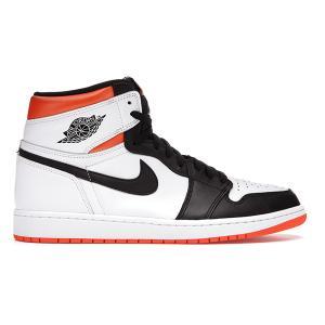 NIKE AIR JORDAN 1 RETRO HIGH OG ELECTRO ORANGE WHITE/ELECTRO ORANGE-BLACK 555088-180|sneaker-shop-link