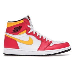 NIKE AIR JORDAN 1 RETRO HIGH OG LIGHT FUSION RED/WHITE-LASER ORANGE-BLACK|sneaker-shop-link