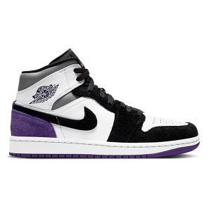 NIKE AIR JORDAN 1 MID SE WHITE COURT PURPLE 852542-105|sneaker-shop-link