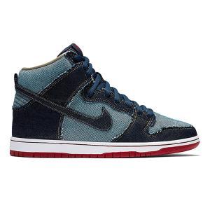 NIKE SB DUNK HIGH TRD QS REESE FORBES DENIM MIDNIGHT NAVY/MIDNIGHT NAVY|sneaker-shop-link