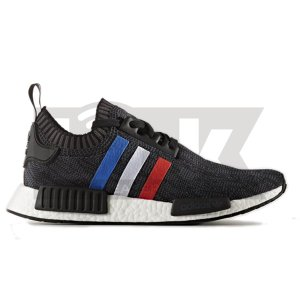 ADIDAS ORIGINALS NMD_R1 PRIMEKNIT TRI-COLOR BLACK|sneaker-shop-link