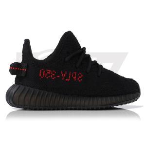 ADIDAS ORIGINALS × KANYE WEST YEEZY BOOST 350 INFANT V2 CORE BLACK/RED|sneaker-shop-link