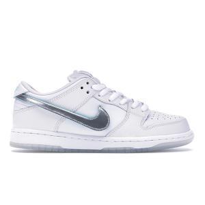 NIKE SB DUNK LOW PRO QS x DIAMOND SUPPLY CO WHITE/CHROME-WHITE|sneaker-shop-link