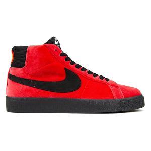 NIKE SB × KEVIN BRADLEY KEVIN AND HELL PACK ZOOM BLAZER MID ISO UNIVERSITY RED/BLACK|sneaker-shop-link