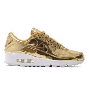 【定価18700円→14850円】NIKE WMNS AIR MAX 90 SP METALLIC PACK METALLIC GOLD【価格修正】|sneaker-shop-link