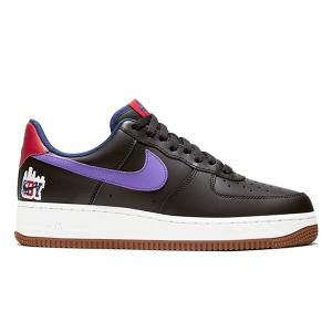 NIKE AIR FORCE 1 SBY COLLECTION BLACK PURPLE BROWN