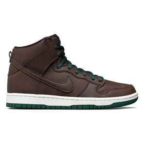 NIKE SB DUNK HIGH PRO BAROQUE BROWN/BAROQUE BROWN-SAIL-FIR|sneaker-shop-link