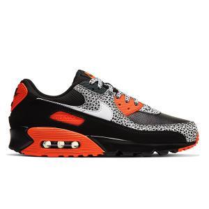 NIKE AIR MAX 90 SAFARI BLACK/SAFETY ORANGE|sneaker-shop-link