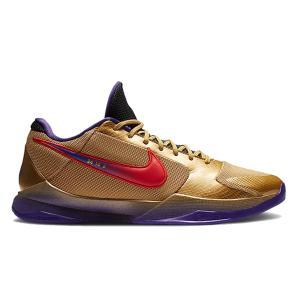 NIKE KOBE 5 PROTORO x UNDEFEATED HALL OF FAME METALLIC GOLD/FIELD PURPLE-MULTI-COLOR|sneaker-shop-link