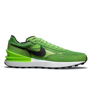NIKE WAFFLE ONE ELECTRIC GREEN BLACK MEAN GREEN|sneaker-shop-link