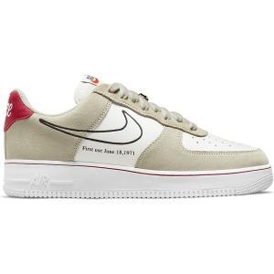 NIKE AIR FORCE 1 '07 LV8 LIGHT STONE/BLACK/SAIL/UNIVERSITY RED/TEAM ORANGE/WHITE DB3597-100|sneaker-shop-link