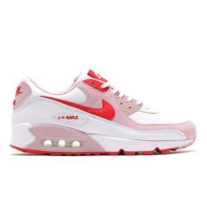 【定価17050円→14300円】NIKE WMNS AIR MAX 90 VALENTINE'S DAY 2021 WHITE/UNIVERSITY RED-TULIP PINK|sneaker-shop-link