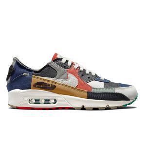 NIKE WMNS AIR MAX 90 SCRAP BONE-SAIL-CHILE RED DJ4878-400|sneaker-shop-link