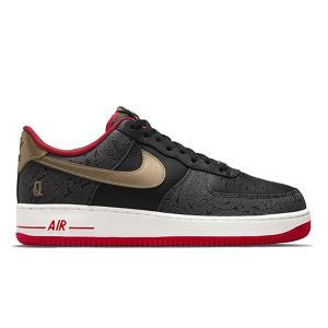 NIKE AIR FORCE 1 LOW SPADES BLACK UNIVERSITY RED SAIL METALLIC GOLD DJ5184-001|sneaker-shop-link