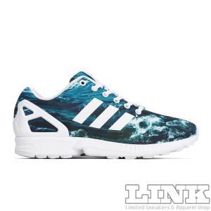 ADIDAS ORIGINALS ZX FLUX 8K OCEAN WAVE|sneaker-shop-link