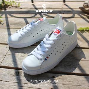 パトリック PATRICK スニーカー QUEBEC ケベック WHT ホワイト 119630