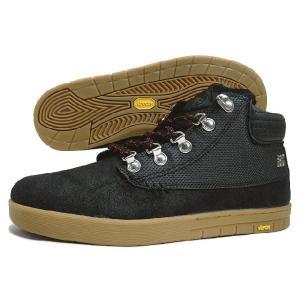 20%OFF IPATH アイパス TRENCHTOWN SHEARLING トレンチタウン シェーリング ブラック/ガム 21039-BLG|sneaker-soko