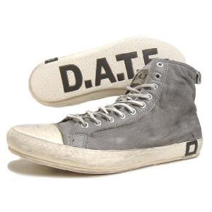 SALE D.A.T.E. デイト SANTOS HIGH JACO サントス ハイ ジャコ グレー 13A-SA-JA|sneaker-soko