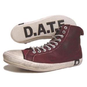 SALE D.A.T.E. デイト SANTOS HIGH JACO サントス ハイ ジャコ ボルドー 13A-SA-JA|sneaker-soko