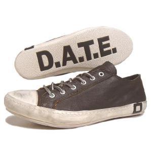 SALE D.A.T.E. デイト SANTOS LOW JACO サントス ロー ジャコ ブラウン 13A-SL-JA|sneaker-soko