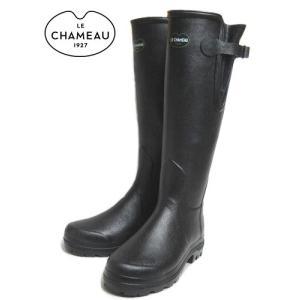 20%OFF レインブーツ LE CHAMEAU ルシャモー VIERZON LADY 2 NOIR BCB1848|sneaker-soko