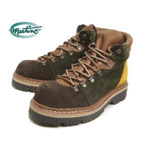 SALE martino マルティノ ブーツ HERBERT ハーバート エスプレッソ/グリーン/イエロー MTHMI004IK01-02 sneaker-soko