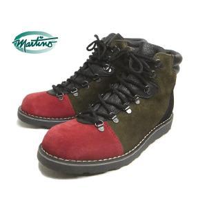 SALE martino マルティノ ブーツ HERBERT ハーバート レッド/ダークオリーブ/ブラック MTHMI001-13 sneaker-soko