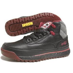 SALE IPATH アイパス BELLINGHAM ベリンガム ブラック/カーボン/レッドラスト 21060-BCR|sneaker-soko